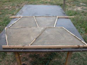 Four bois - Crepi pour barbecue beton ...
